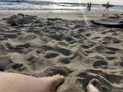Toes in the sand is the ultimate ahhhhh